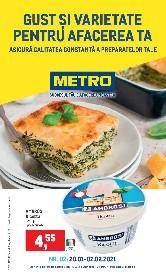 Metro - Gust si varietate pentru afacerea ta | 20 Ianuarie - 02 Februarie