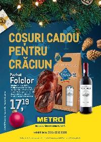 Metro - Cosuri cadou pentru Craciun | 02 Noiembrie - 30 Noiembrie