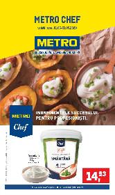 Metro Chef - Ingredientele succesului pentru profesionisti | 01 Mai - 31 Mai