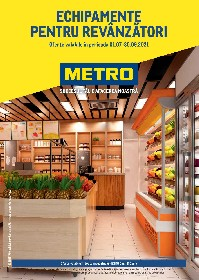 Metro - Echipamente pentru revanzatori | 01 Iulie - 30 Septembrie