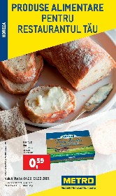 Metro - Produse alimentare pentru restaurantul tau | 05 Mai - 01 Iunie