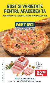 Metro - Gust si varietate pentru afacerea ta | 30 Septembrie - 13 Octombrie