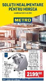 Metro - Solutii nealimentare pentru HoReCa | 01 Ianuarie - 31 Decembrie