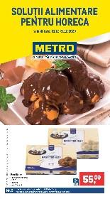 Metro - Solutii alimentare pentru HoReCa | 01 Decembrie - 31 Decembrie