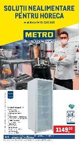 Metro - Solutii nealimentare pentru HoReCa | 04 Ianuarie - 31 Martie
