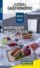 Metro - Ingrediente inedite pentru meniul tau | 01 Iulie - 01 August