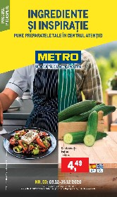 Metro- Ingrediente si inspiratie | 09 Decembrie - 15 Decembrie