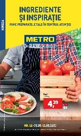 Metro - Ingrediente si inspiratie | 05 Mai - 11 Mai