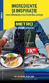 Metro - Ingrediente si inspiratie | 09 Iunie - 15 Iunie