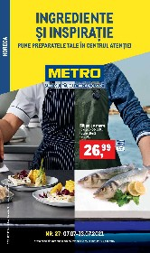 Metro - Ingrediente si inspiratie | 07 Iulie - 13 Iulie