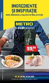 Metro - Ingrediente si inspiratie | 04 August - 10 August