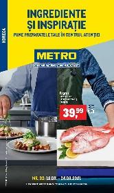 Metro - Ingrediente si inspiratie | 18 August - 24 August