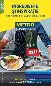 Metro - Ingrediente si inspiratie | 07 Octombrie - 13 Octombrie