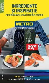 Metro - Ingrediente si inspiratie | 18 Noiembrie - 24 Noiembrie