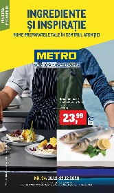 Metro - Ingrediente si inspiratie | 16 Decembrie - 22 Decembrie