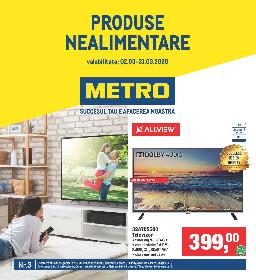 Metro - Oferte speciale la articole nealimentare | 02 Martie - 31 Martie