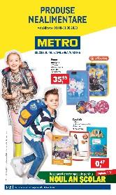 Metro- Oferte speciale pentru noul an scolar | 03 August - 31 August