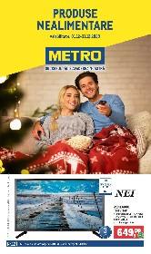 Metro - Oferta Produse Nealimentare | 01 Decembrie - 31 Decembrie