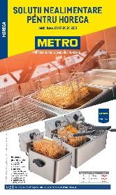 Metro - Solutii nealimentare pentru HoReCa | 01 Iulie - 30 Septembrie