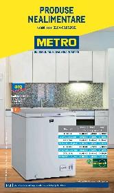 Metro - Produse nealimentare | 01 Aprilie - 03 Mai