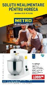 Metro - Solutii nealimentare pentru HoReCa | 01 Aprilie - 30 Iunie