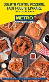 Metro - Solutii pentru pizzerie fast food si livrare | 16 Noiembrie - 11 Ianuarie