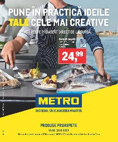Metro - Produse proaspete pentru ideile tale cele mai creative | 05 Februarie - 11 Februarie