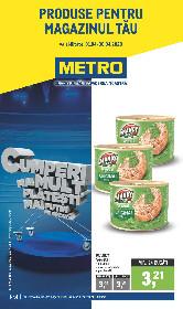 Metro - Oferte pentru revanzatori | 01 Aprilie - 30 Aprilie