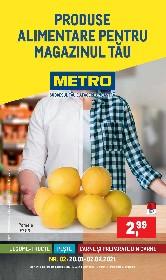 Metro - Produse alimentare pentru magazinul tau | 20 Ianuarie - 02 Februarie