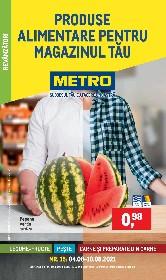Metro - Produse alimentare pentru magazinul tau | 04 August - 10 August