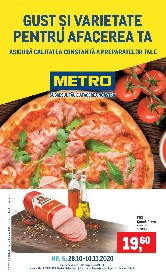 Metro - Gust si varietate | 28 Octombrie - 11 Noiembrie