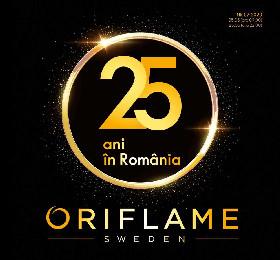 Oriflame - 25 de ani in Romania | 05 Mai - 25 Mai