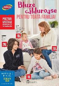 Pepco - Bluze calduroase pentru toata familia! | 22 Octombrie - 04 Noiembrie