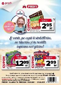Profi - Pe copii ii sarbatorim si in revista cupoane noi gasim | 19 Mai - 01 Iunie