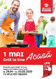 Selgros - 1 Mai grill la tine acasa. Preturi valabile cu aplicatia Selgros   29 Aprilie - 03 Mai