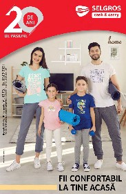Selgros - Fii confortabil la tine acasa   12 Martie - 25 Martie