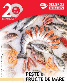 Selgros - Peste & fructe de mare   30 Iulie - 12 August
