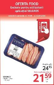 Selgros - Oferte alimentare valabile exclusiv cu aplicatia Selgros   19 Iunie - 02 Iulie