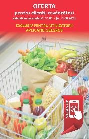Selgros - Oferta pentru revanzatori valabila doar cu aplicatia Selgros   31 Iulie - 13 August