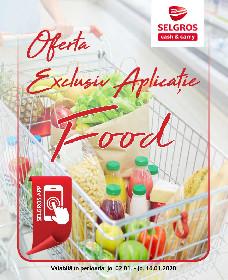 Selgros - Oferta alimentara exclusiv aplicatie | 02 Ianuarie - 16 Ianuarie