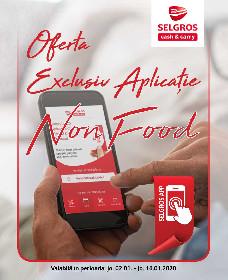 Selgros - Oferta nonfood exclusiv aplicatie | 02 Ianuarie - 16 Ianuarie