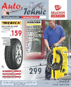 Selgros - Oferte Produse Auto si Tehnic   13 Martie - 09 Aprilie