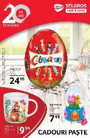Selgros - Cadouri Paste   16 Aprilie - 01 Mai