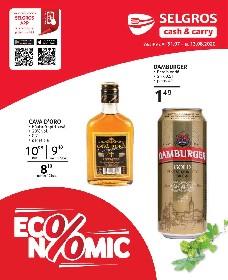 Selgros - Economic   31 Iulie - 13 August