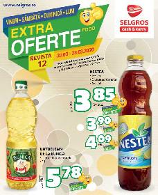 Selgros - Extra oferte alimentare de Weekend | 23 Martie - 23 Martie