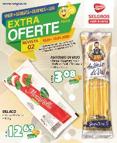Selgros - Oferte alimentare de weekend | 10 Ianuarie - 13 Ianuarie