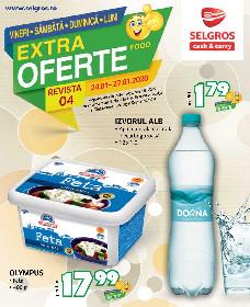 Selgros - Extra oferte alimentare de Weekend | 24 Ianuarie - 27 Ianuarie