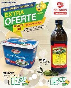 Selgros - Extra oferte alimentare | 07 Februarie - 10 Februarie