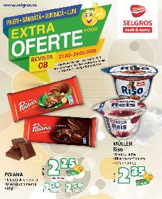 Selgros - Extra oferte alimentare de weekend promovare exclusiv online | 21 Februarie - 24 Februarie