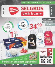 Selgros - Oferta produse alimentare | 28 Februarie - 12 Martie